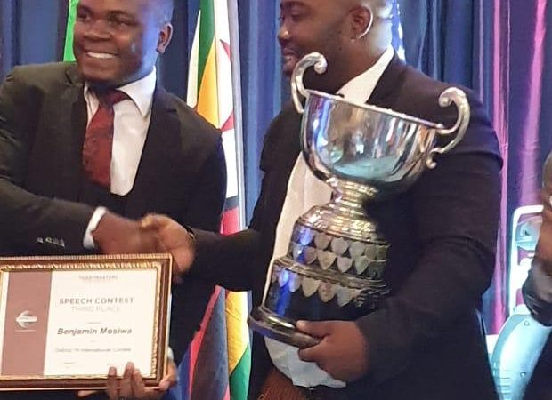 Southern Africa Champion of Public Speaking 2019/2020